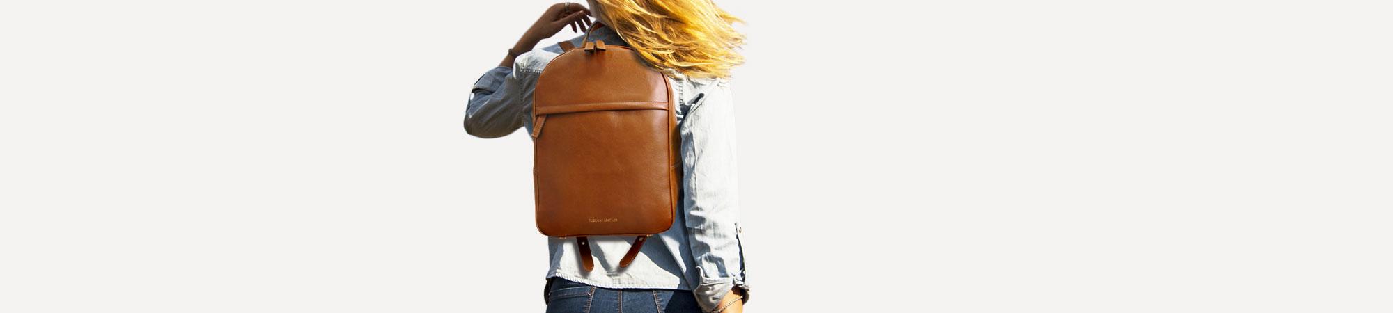 Tuscany Leather Hanoi Sac /à Dos en Cuir