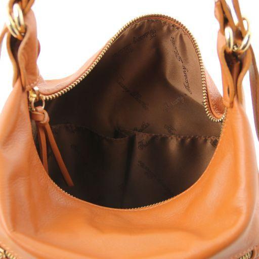 TL Bag Borsa donna in pelle convertibile a zaino Nero TL141535