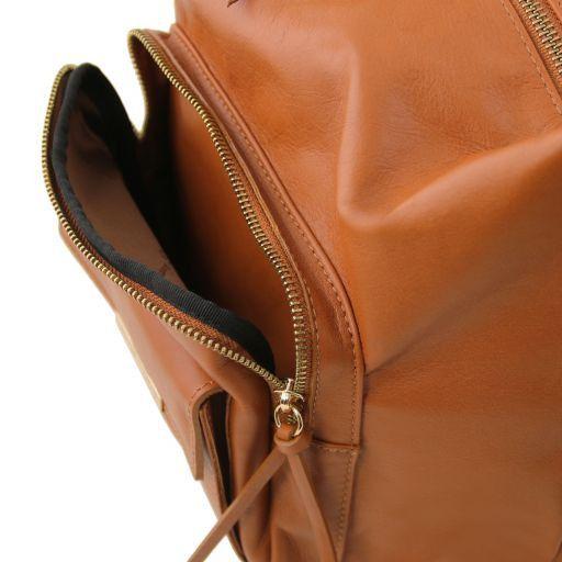 TL Bag Schultertasche aus Kalbsleder Rot TL141535