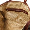 Porto Reisetasche aus Leder Braun TL140938