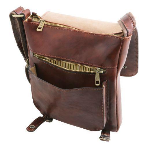 Roby Herrentasche aus Leder mit Schnallen Honig TL141406