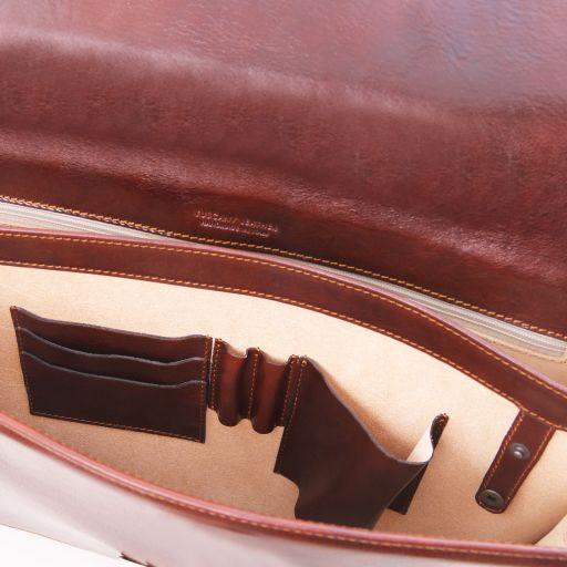 Parma Cartella in pelle 2 scomparti Rosso TL141350