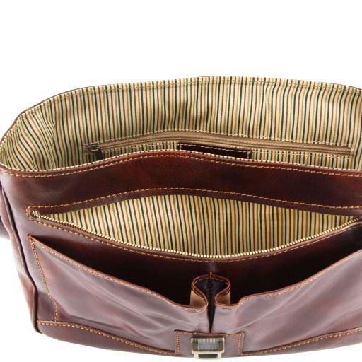 Padova Эксклюзивная кожаная сумка для ноутбука Коричневый TL140891