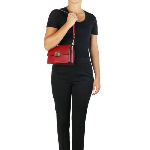 Adele Sac à main en cuir Rouge TL141742
