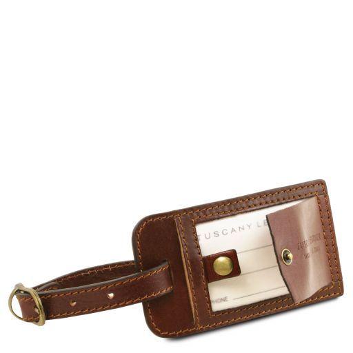 TL Voyager Дорожная кожаная сумка-даффл - Малый размер Коричневый TL141216