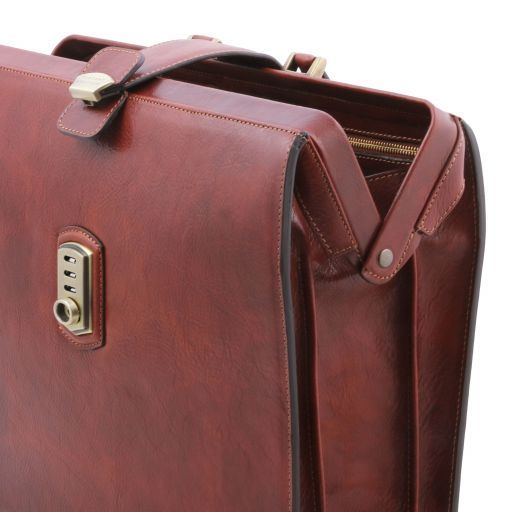 Canova Leather Doctor bag briefcase 3 compartments Honey TL141826