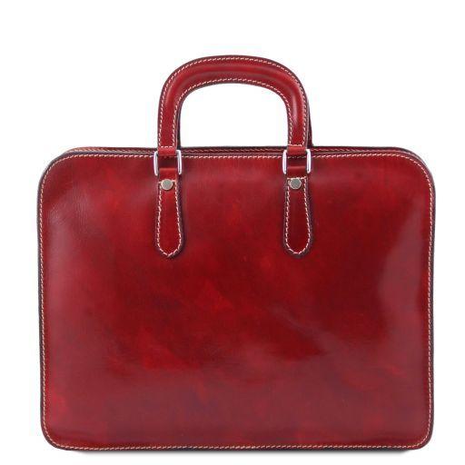 Alba Женский кожаный портфель с одним оделением Мед TL140961
