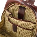 Perth 2 Compartments leather backpack Коричневый TL142049