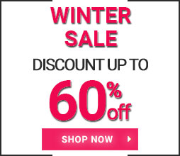 Discount up to 60% off! Winter Sale 2019