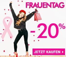-20% Frauentag-Spezial