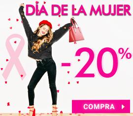 -20% Especial Día de la Mujer