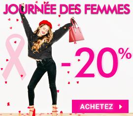 -20% Journée des Femmes