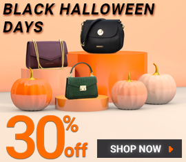 30% OFF EVERYTHING - BLACK HALLOWEEN DAYS