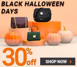 30% OFF EVERYTHING - BLACK HALLOWEEN DAYS