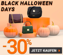 -30% AUF ALLES - BLACK HALLOWEEN DAYS