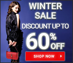 Discount up to 60% off! Winter Sale