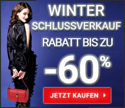 Bis Zu 60% Rabatt! Winterschlussverkauf