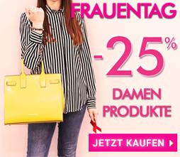 -25% Frauentag-Spezial