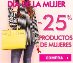-25% Especial Día de la Mujer