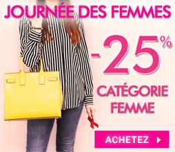 -25% Journée des Femmes