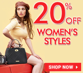 20% all womens's styles