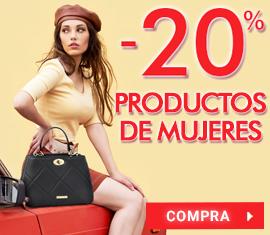 -20% en todos los productos de mujeres