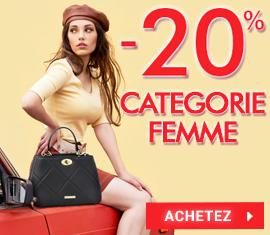 -20% sur les produits femmes