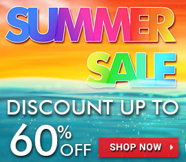 Summer sales up to 60% off