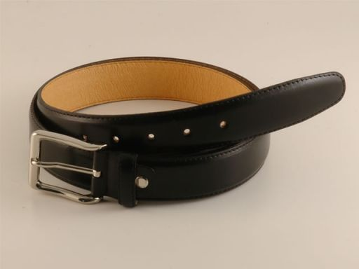 Esclusiva cintura in pelle Nero TL140589