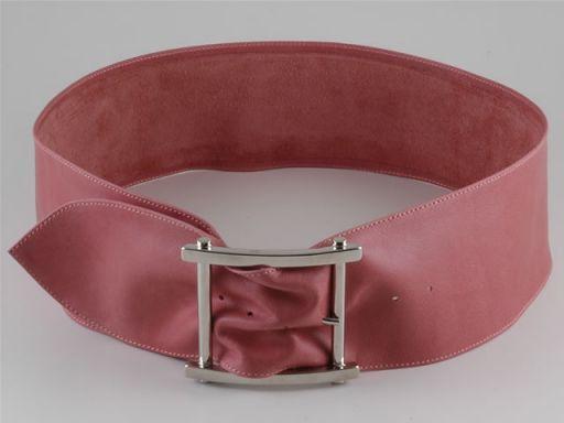 Esclusiva cintura in pelle Rosa TL140599