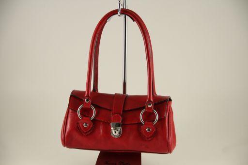 Katy Borsa in pelle Rosso TL140603