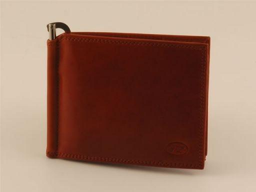 Esclusivo portafogli da uomo in pelle Marrone TL140605