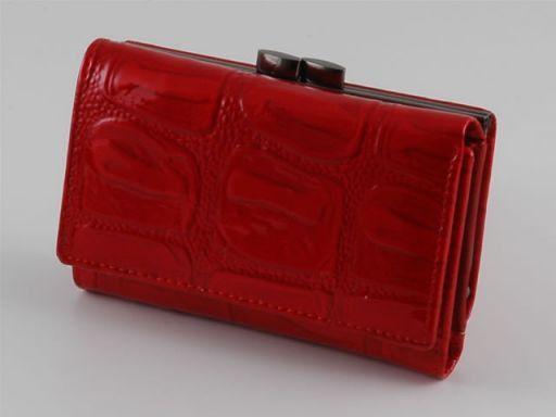 Esclusivo portafogli da donna in pelle Rosso TL140606