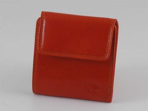 Esclusivo portafogli da uomo in pelle Arancio TL140623