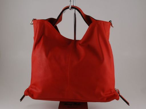 Aurora Borsa in pelle da donna Rosso TL140633