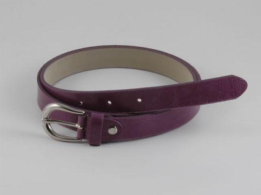 Esclusiva cintura in pelle Viola TL140648