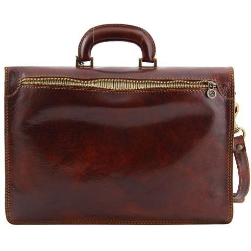 Amalfi Aktentasche aus Leder 1 Fach Schwarz TL10050