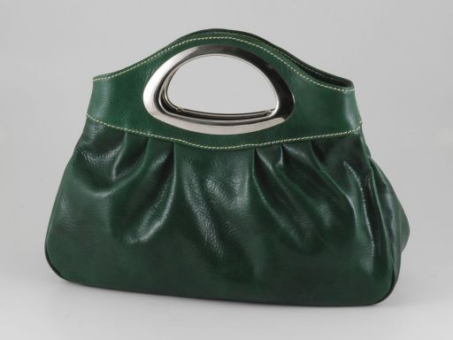 Nicole Borsa donna in pelle Verde TL140690