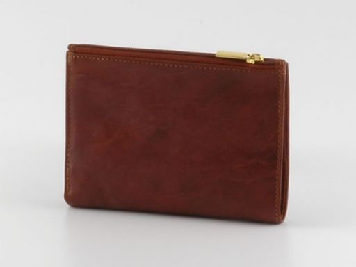 Esclusivo portafoglio in pelle donna Verde TL140283