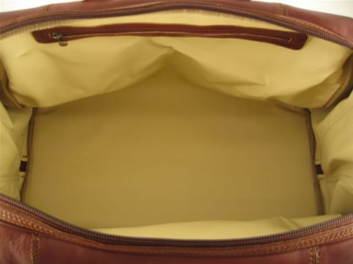 Monaco Travel leather bag - Large size Коричневый TL140437