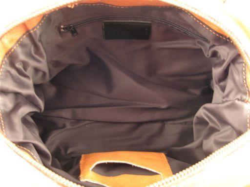 Dalila Leather lady bag Dark Brown TL100439