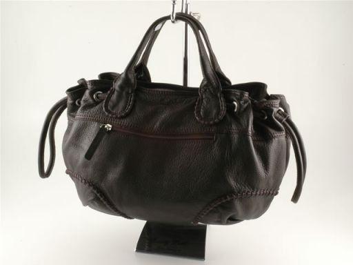 Patrizia Lady leather handbag Красный TL140469