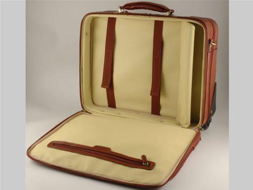 San Francisco Esclusivo trolley porta notebook Marrone FC140500