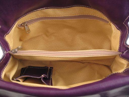Katy Borsa in pelle Viola TL140603