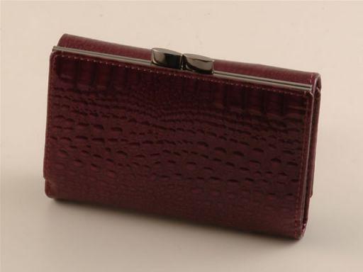 Esclusivo portafogli da donna in pelle Nero TL140607