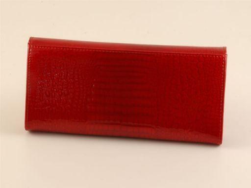 Esclusivo portafogli in pelle da donna Bronzo TL140608