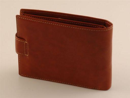 Esclusivo portafogli da uomo in pelle Rosso TL140614