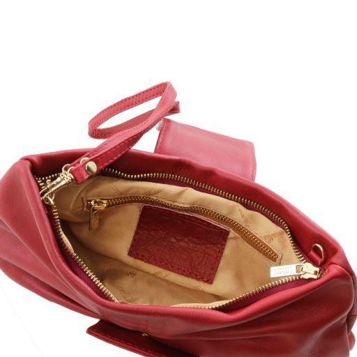 Priscilla Pochette in pelle Rosso scuro TL140716