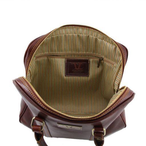 Prato Esclusiva cartella porta notebook in pelle Marrone TL140890