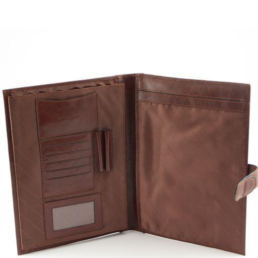 Socrate Portadocumentos elegante en piel Negro TL140955